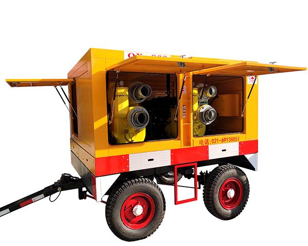 6寸双排应急抢险排涝水泵QX-860