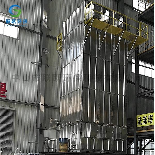 湿式静电除尘设备的布局研究方法