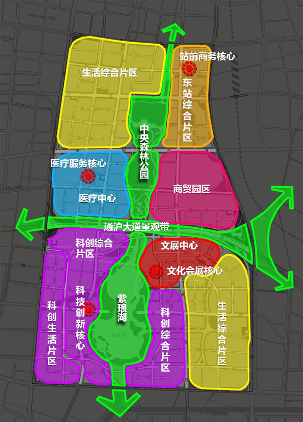 南通中创区规划
