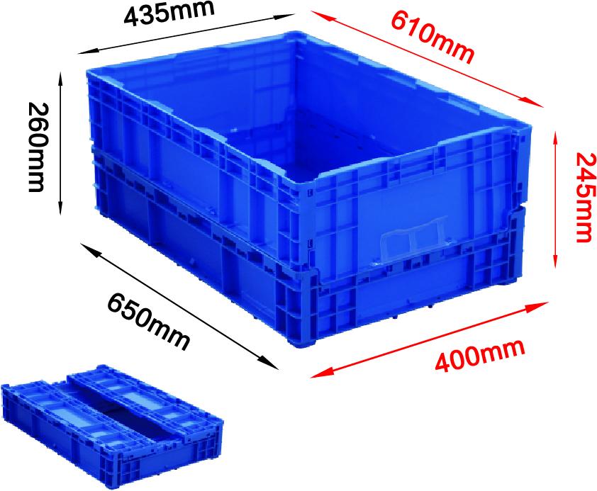 650系列折疊箱-4