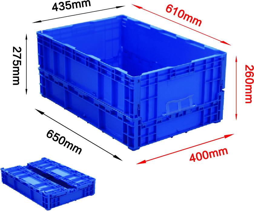 650系列折疊箱-5