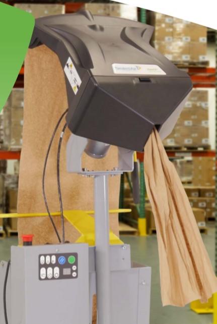 缓冲纸垫包装系统