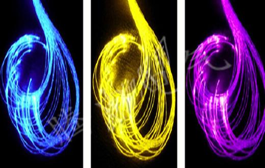 单点发光光纤