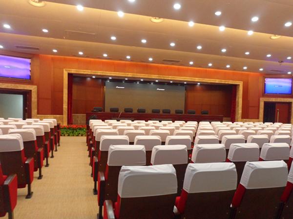 睿观博MHD-1616S矩阵助力江苏省人民检察院报告厅的音视频升级改造