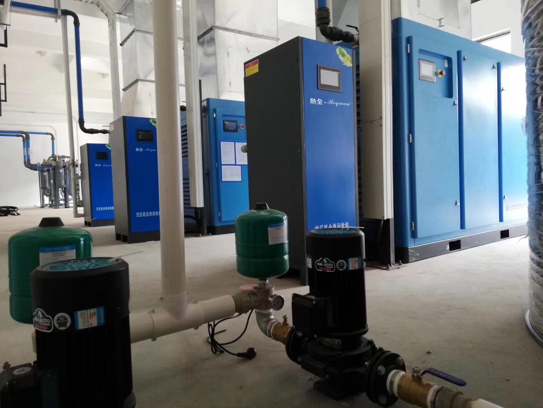 热全空压机余热回收安装现场.jpg
