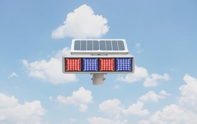 太阳能爆闪灯