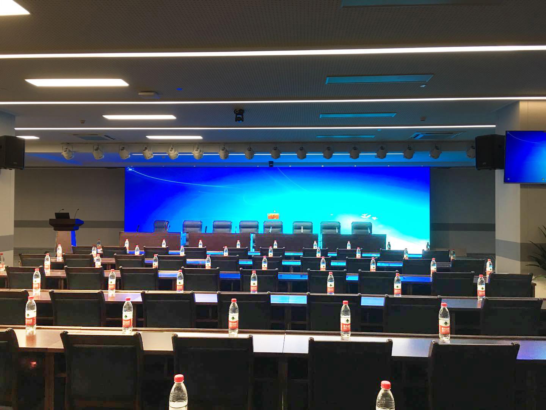 睿观博MHD-2020S矩阵和网传为杭州2022年第19届亚运会组委会会议厅助力