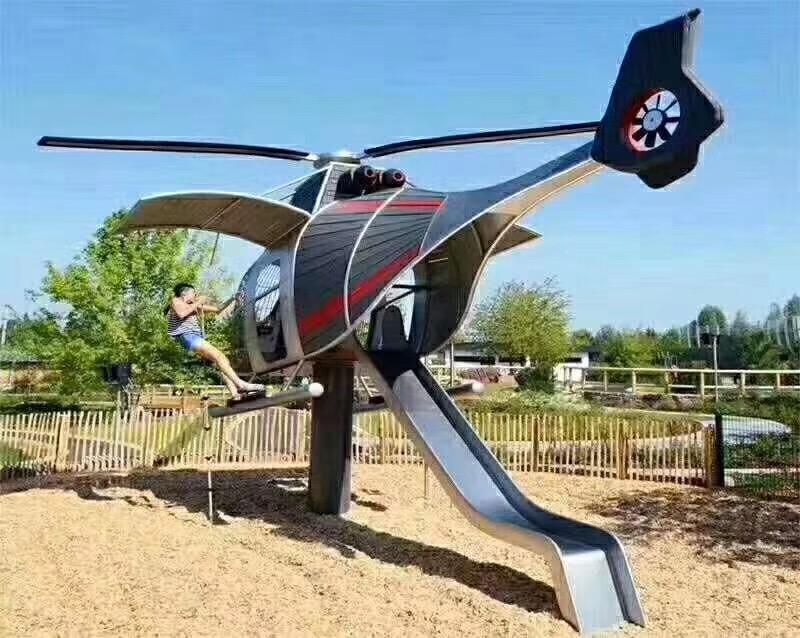 景观游乐定制款直升机