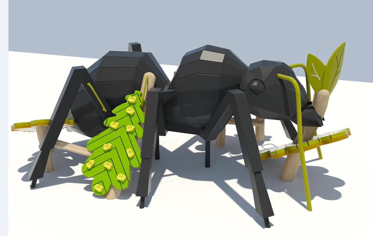 景观游乐蚂蚁觅食