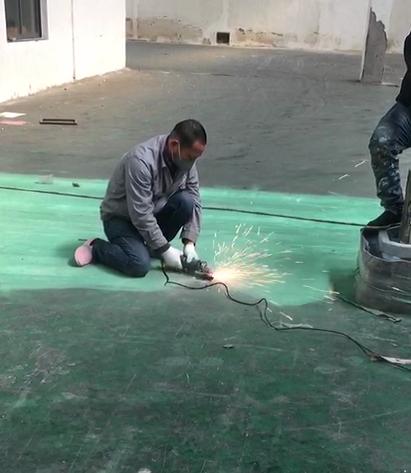 美地宝承建上海运杰供应链仓库环氧地坪装修工程