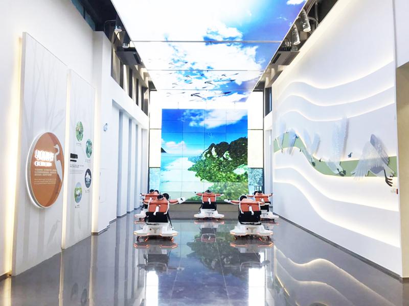 秦皇岛鸟类博物馆采用了睿观博网线传输延长器