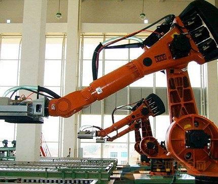 机器人搬运油烟机案例