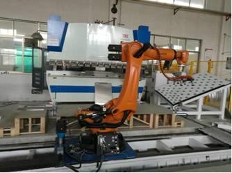 机器人机床上下料-案例1