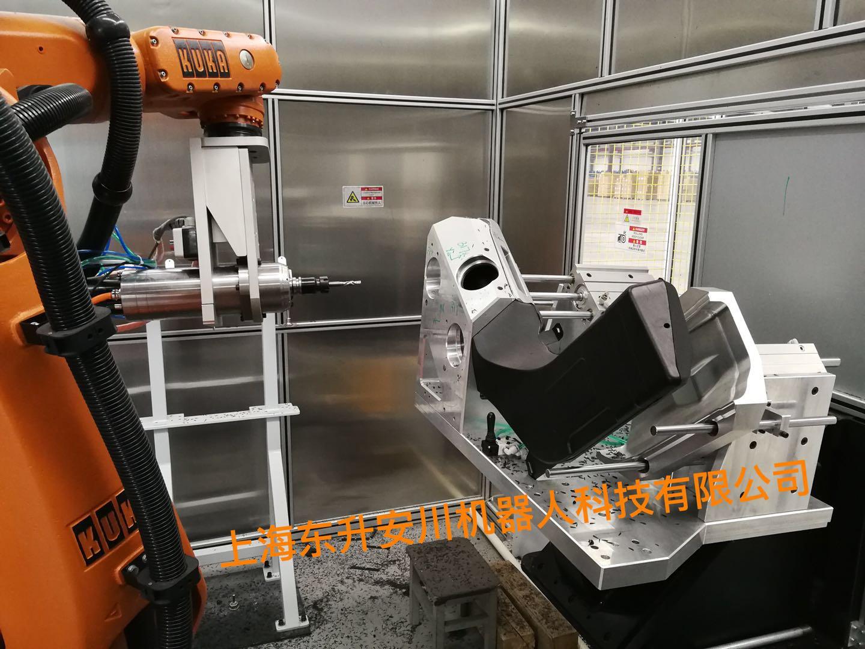 机器人铣刀切割