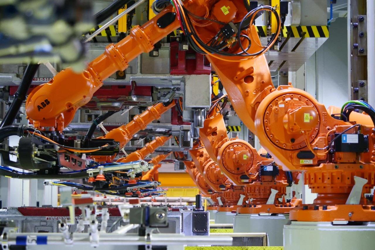 焊接机器人的组成结构