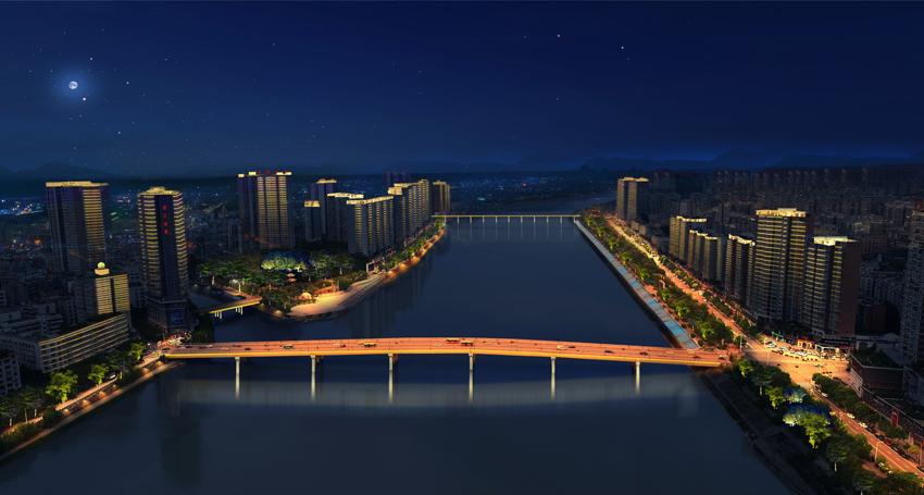 简阳城市照明