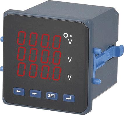 P□5051三相电压表