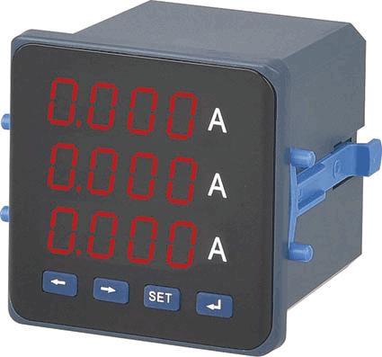 P□5051三相电流表