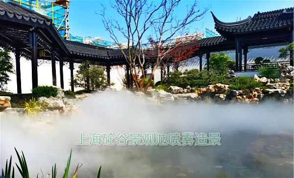 景观水池人工造雾