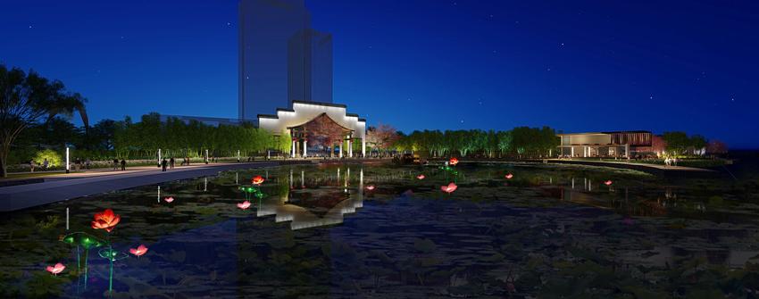 宁波中山路照明