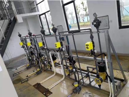 电磁计量泵适用于污水处理厂和养殖场