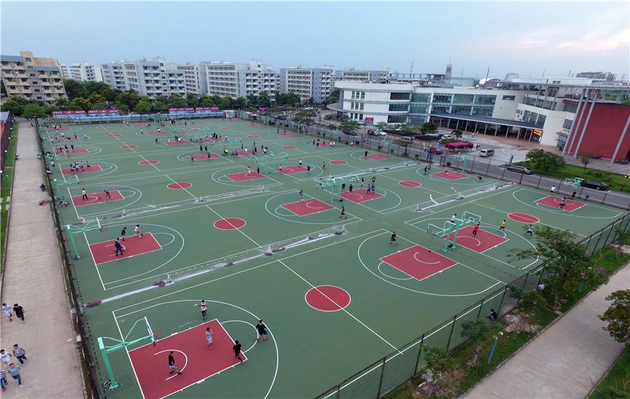 篮球场解决方案