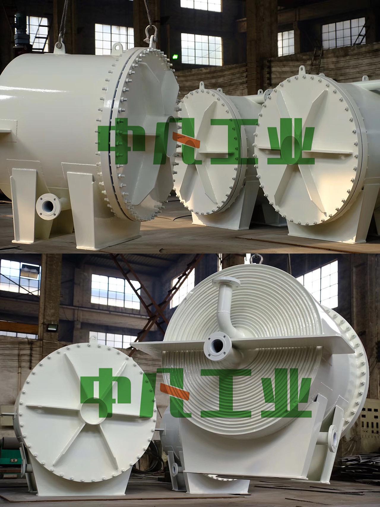 AG9工業客戶定製版螺旋板式換熱器