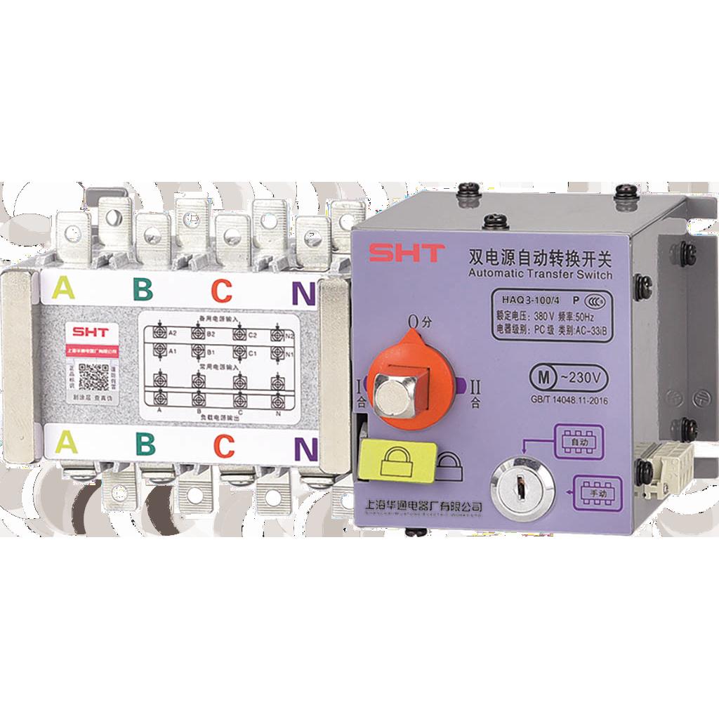 HAQ3隔离型PC级双电源自动转换开关