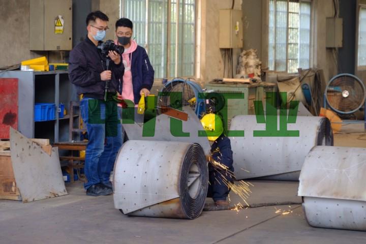 螺旋板式換熱器製造商:AG9工業企業紀錄片拍攝