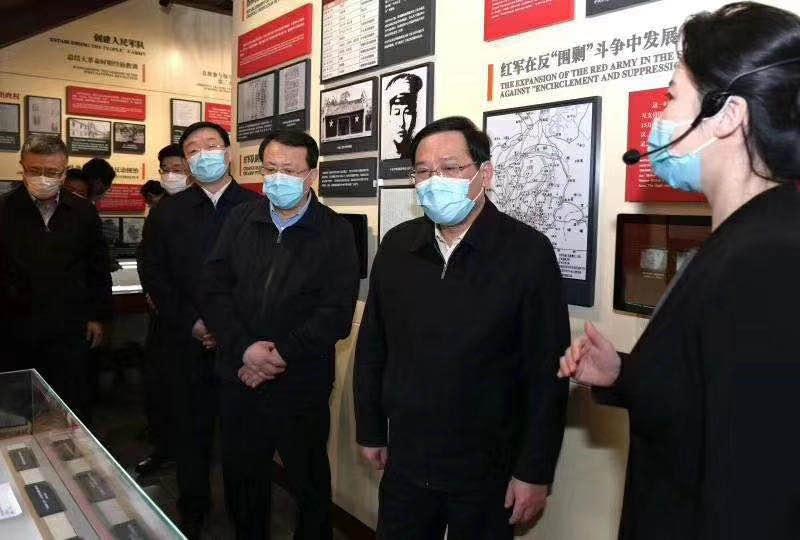 中 共 中 央 政 治 局 军 委 机 关旧址纪念馆采用睿观博品牌光纤传输延长器