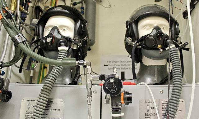 氧气面罩和生命维持系统