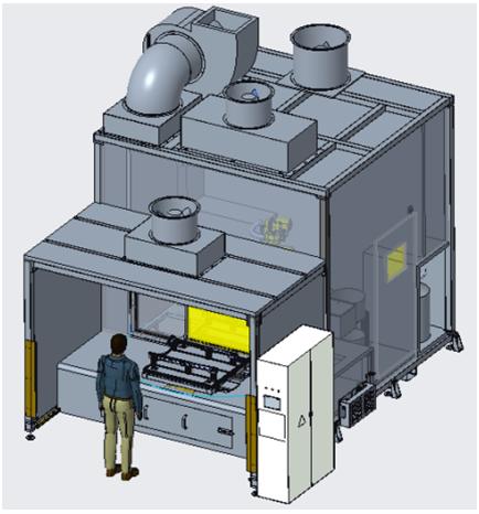 VW316/6门板喷胶设备