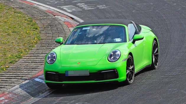 保时捷911 Targa纽博格林测试 动力提升、起售价更高