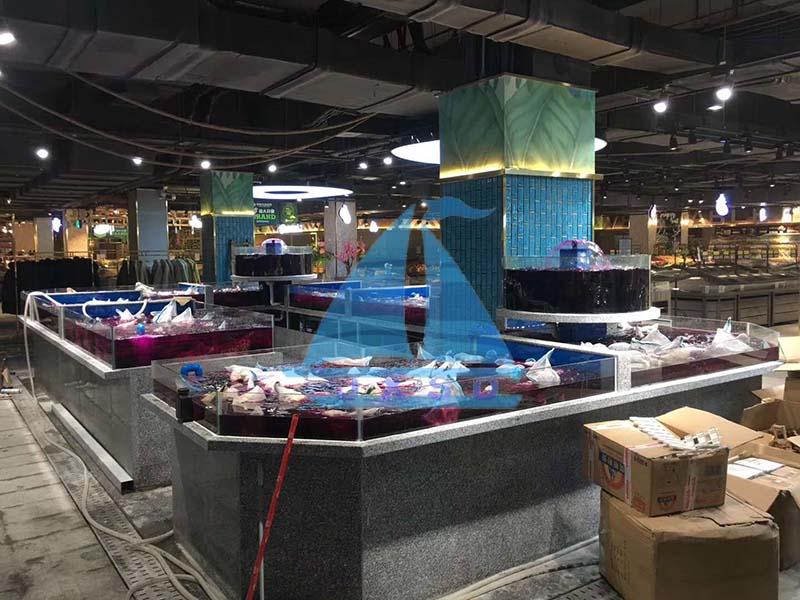 崇州邻里超市海鲜池工程照1.jpg