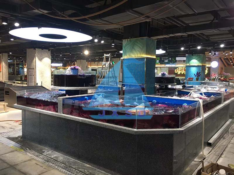 商场海鲜池案例