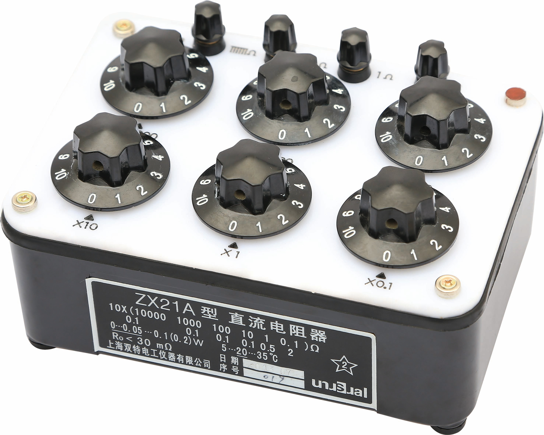 ZX21A型直流電阻器