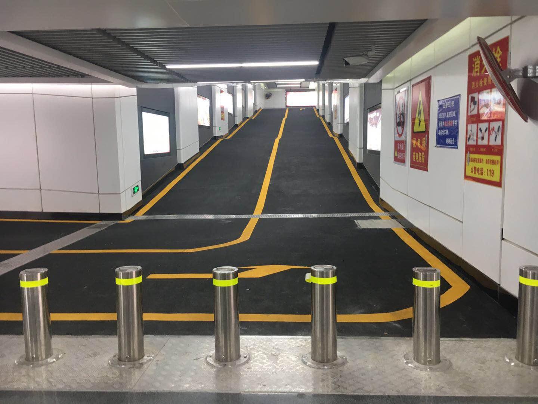 洛阳龙门高铁站地下停车场
