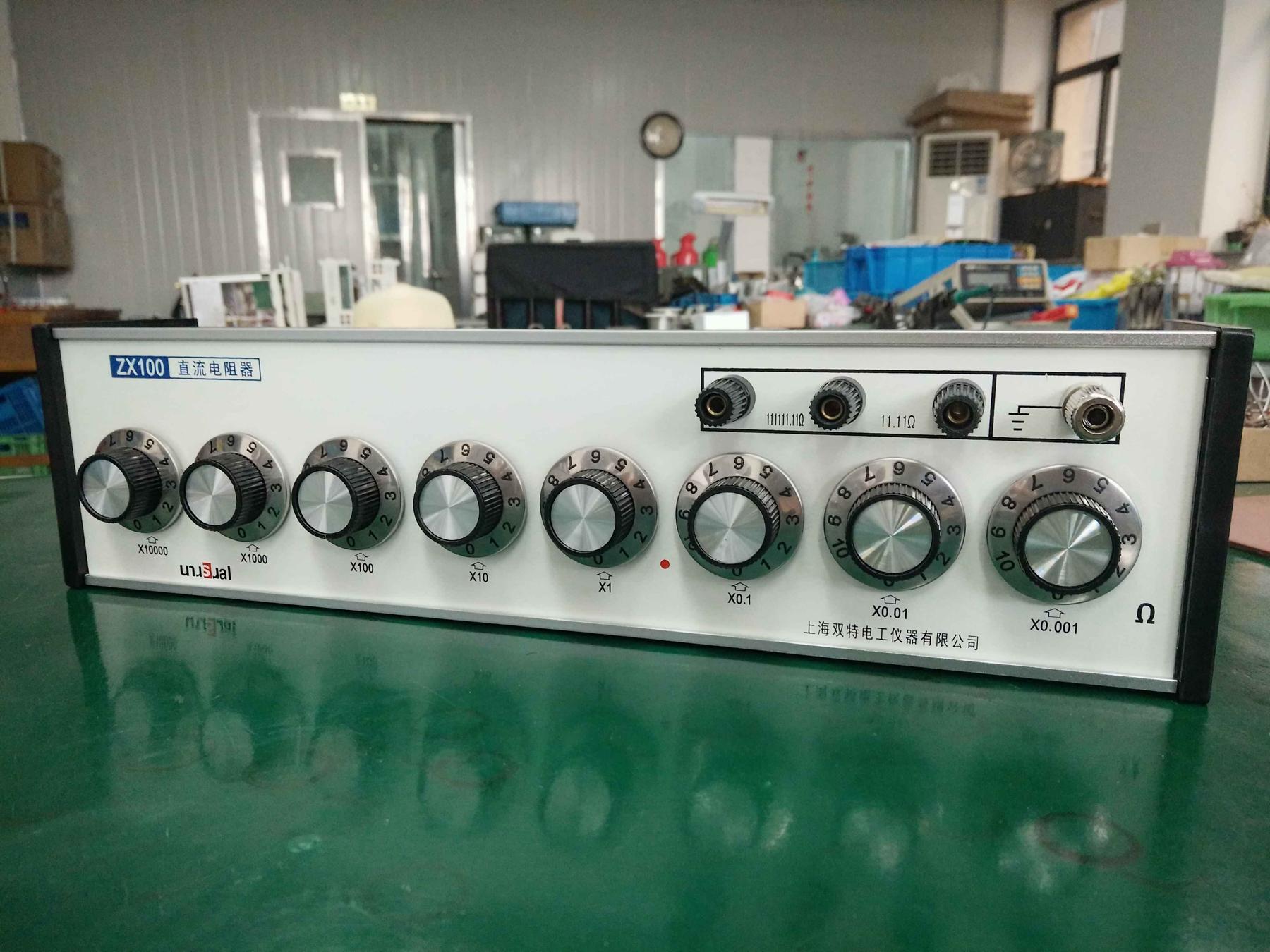 ZX100型直流电阻器(直流标准电阻)