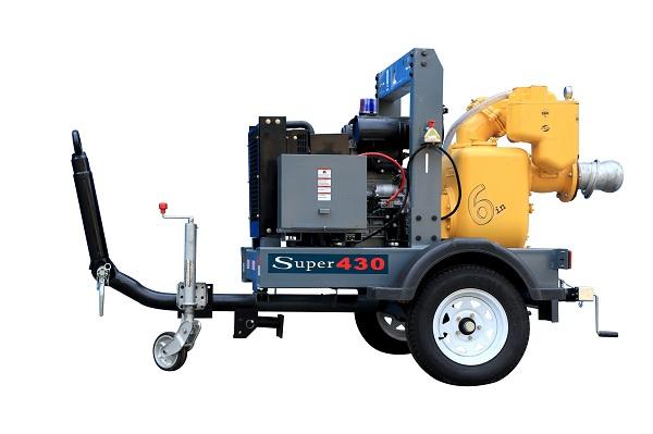 6寸污水拖车泵QX-6SWT