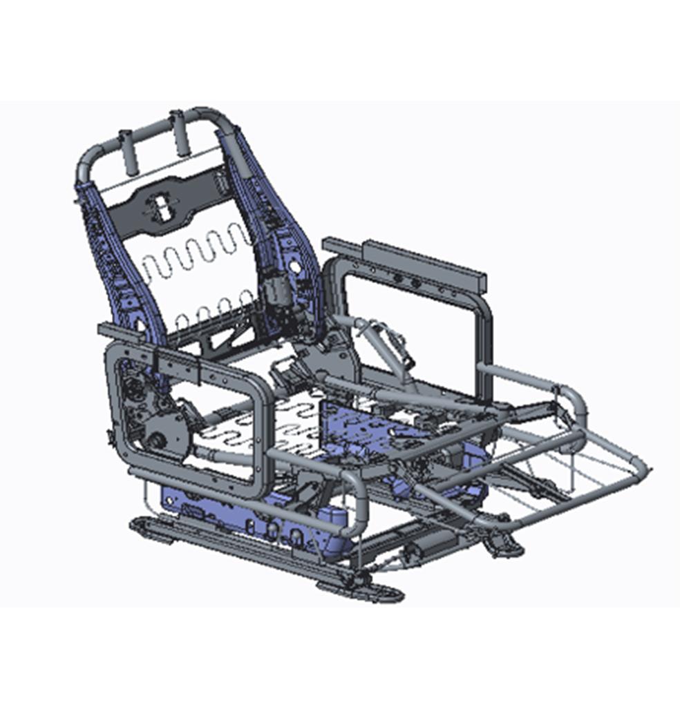 汽车座椅骨架的生产流程是什么样的?