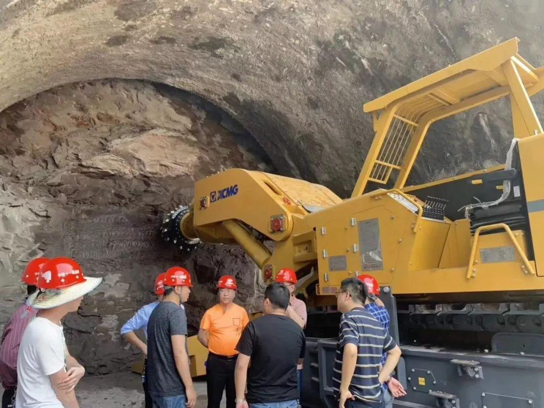 近20台徐工悬臂式隧道掘进机挑战山城超级工程!