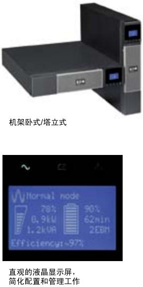 伊顿5PX系列UPS (1.5-3KVA)机架式 / 塔式