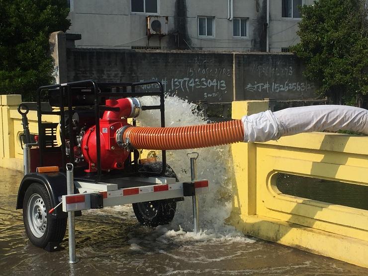 启秀汽油6寸水泵QX-6S(K)