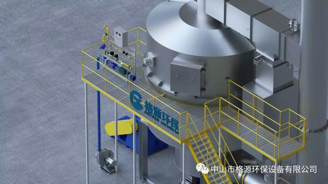 旋转式蓄热氧化炉
