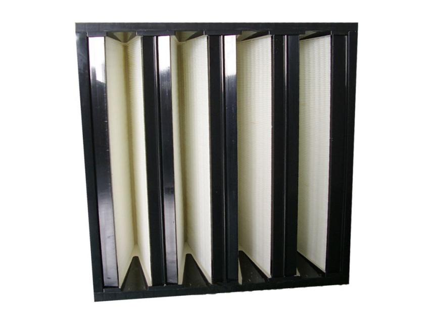 塑框V型过滤器