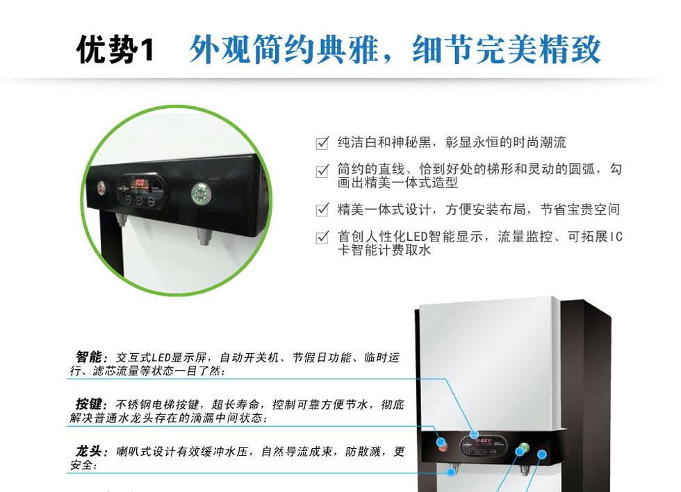 智能直饮机、自动开关机净水器、LED显示屏