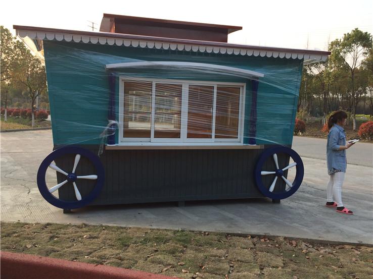 木质售货亭