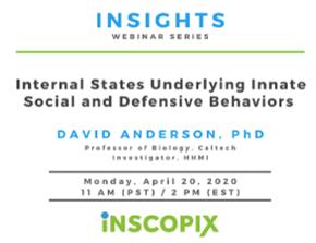 线上研讨会_Anderson教授讲解inscopix自由活动钙成像解码社交和防御行为
