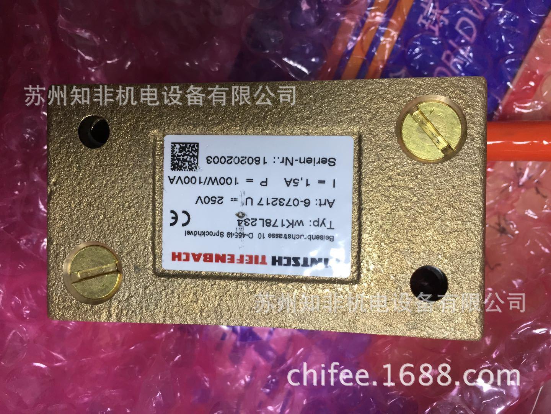 德国TIEFENBACH蒂芬巴赫WK008K234磁性开关WK177S214磁限位开关 iEA33/1RSL磁铁M10