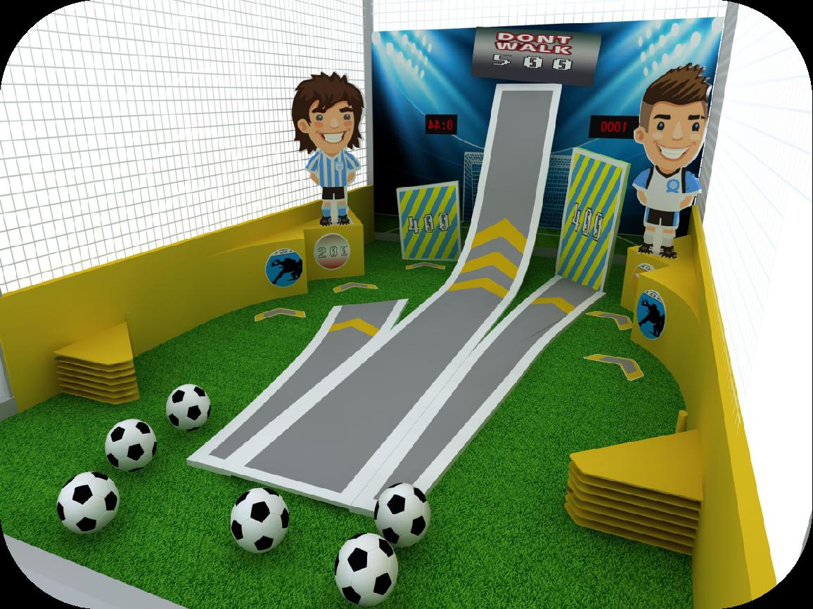 互动竞技--趣味弹珠足球